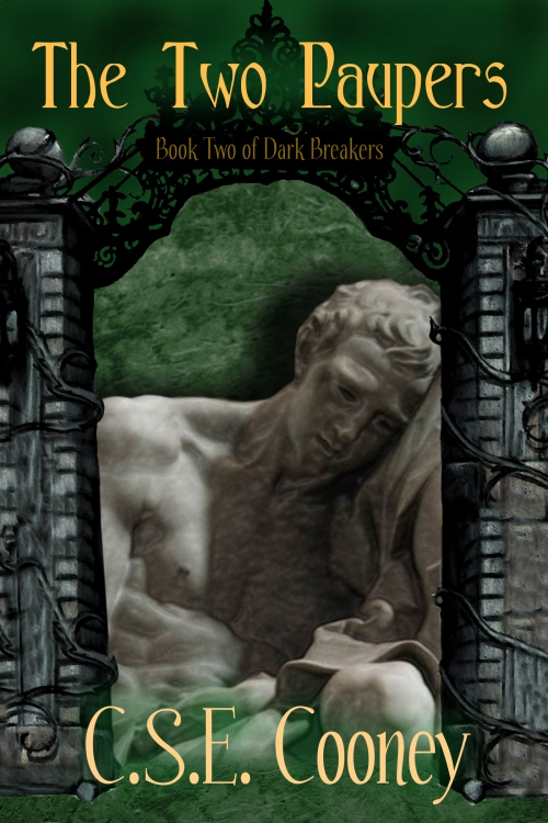 Two Paupers cover, Dark Breakers book 2,C.S.E. Cooney